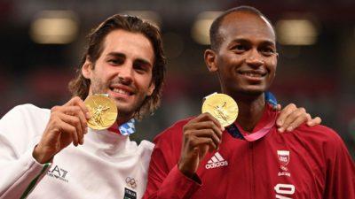 Впервые на Играх в соревнованиях по прыжкам в высоту утвердили двух олимпийских чемпионов
