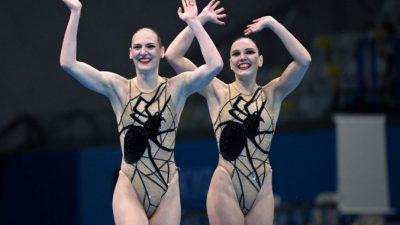 Дуэт российских синхронисток завоевал золото Олимпиады