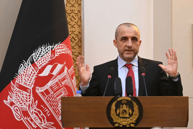 Вице-президент Афганистана Амрулла Салех. Photo by SAJJAD HUSSAIN/AFP via Getty Images | Epoch Times Россия