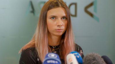 В Беларуси медаль легкоатлетки Тимановской выставили на eBay