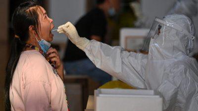 В китайском городе из-за 58 заразившихся COVID-19 посадили на карантин 4,56 млн жителей