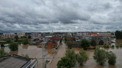 Наводнения снова обрушились на Центральный Китай
