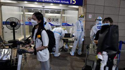 В аэропорту Шанхая зафиксировано 5 случаев заражения COVID-19 у полностью вакцинированных рабочих