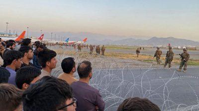 После стрельбы военных США в аэропорте Кабула погибли несколько человек