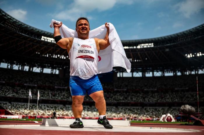 Россиянин Денис Гнездилов установил мировой рекорд в толкании ядра на Паралимпиаде