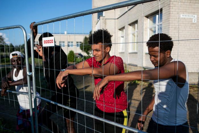 Польша поможет Литве в охране границы с Беларусью от мигрантов
