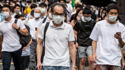 Токио обновил рекорд по суточной заболеваемости коронавирусом
