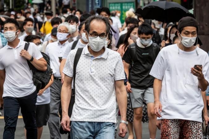 Пандемия в Токио, 30 июля 2021 года. Фото: Yuichi Yamazaki/Getty Images | Epoch Times Россия