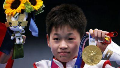 14-летняя олимпийская чемпионка из Китая надеется собрать достаточно денег, чтобы вылечить больную мать