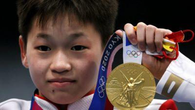 Семья 14-летней олимпийской чемпионки из Китая отказалась от 3 млрд рублей