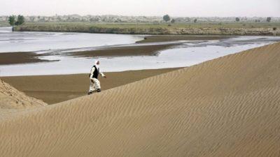 Самый засушливый регион Китая пострадал от наводнения, самая большая пустыня частично превратилась в озеро