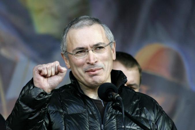 Михаил Ходорковский на Майдане в Киеве, Украина, 9 марта 2014 г. (ВО Свобода, via Wikimedia Commons) | Epoch Times Россия