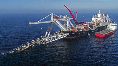 США ввели санкции против российского судна и двух граждан, участвующих в строительстве «Северного потока — 2»