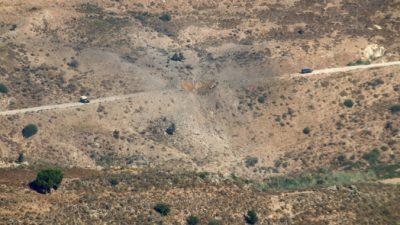 Израильские истребители наносят удары по стартовым площадкам в ответ на ракетную атаку Ливана