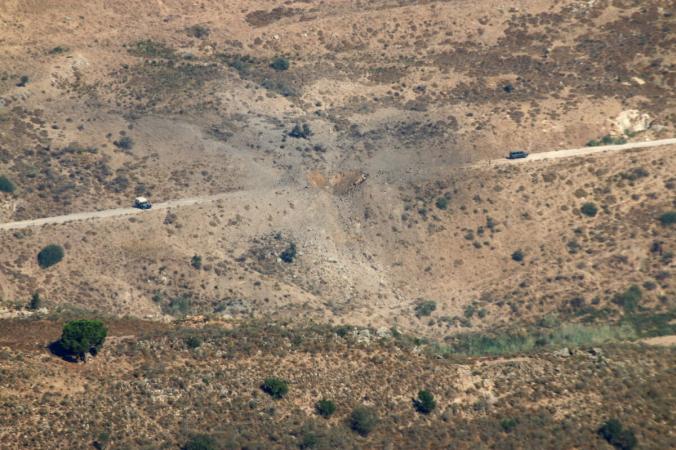 Ущерб после израильских авиаударов в Марджаюне, Ливан, недалеко от границы с Израилем, 5 августа 2021 г. (Karamallah Daher / Reuters)   Epoch Times Россия