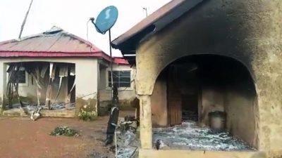В Нигерии террористы сожгли детский дом