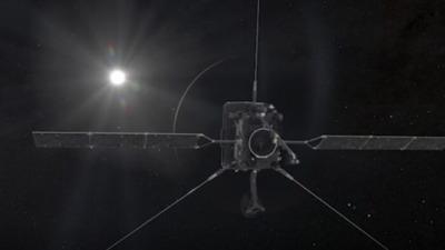 Солнечный орбитальный аппарат уловил блики Венеры