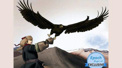 Древние сказки о мудрости: доверие орла