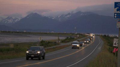 Мощное землетрясение на Аляске стало причиной утечки дизельного топлива с затонувшего корабля