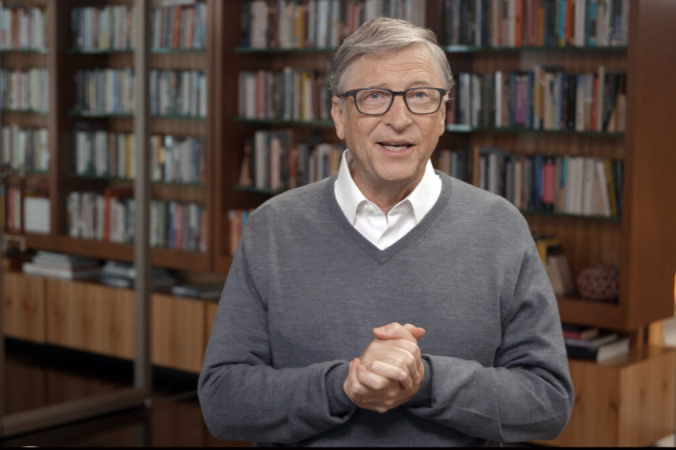 Билл Гейтс выступает на концерте All In WA по борьбе с COVID-19 в Вашингтоне 24 июня 2020 г. (Getty Images / Getty Images для All In WA)   Epoch Times Россия