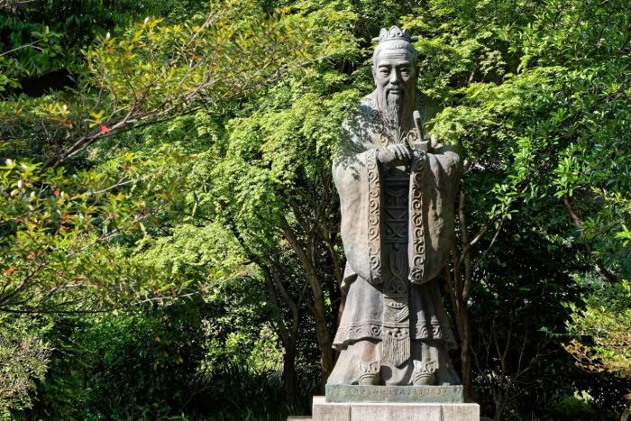 Два ученика Конфуция по-разному воспринимают приобретение и потерю