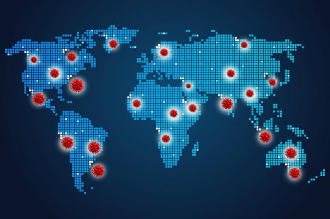 Ограничения в регионах в связи с COVID-19 занесли на интерактивную карту