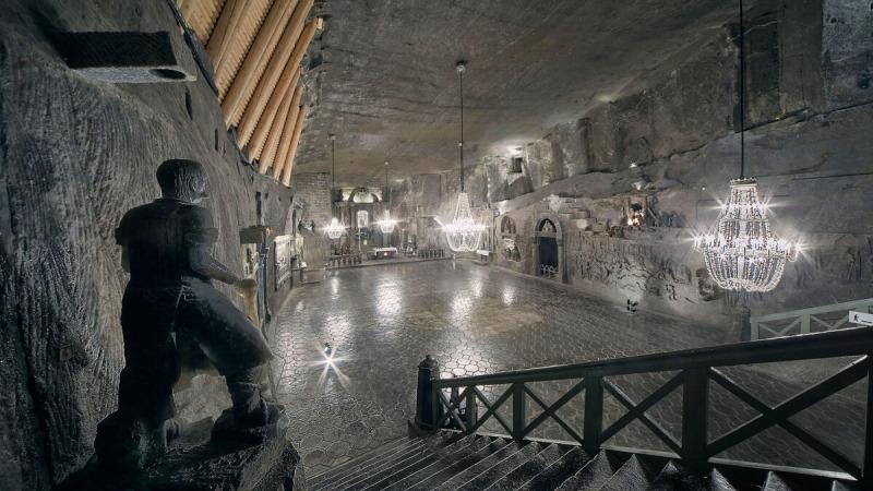(Предоставлено соляной шахтой в Величке)  | Epoch Times Россия
