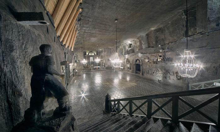 Сокровища подземной соляной шахты в Польше