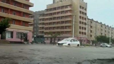 Проливные дожди в Северной Корее: тысячи людей эвакуированы, разрушены дома и мосты