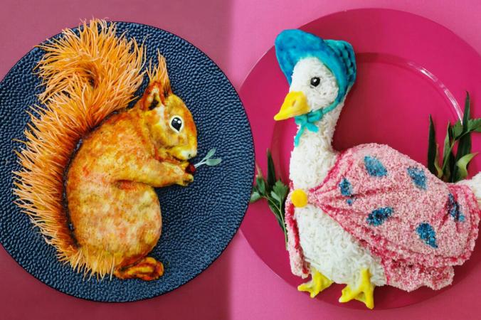 Бельгийская художница Иоланда Стоккерманс превращает повседневные блюда в полезные и съедобные произведения искусства для своих детей (любезно предоставлено Иоландой Стоккерманс) | Epoch Times Россия