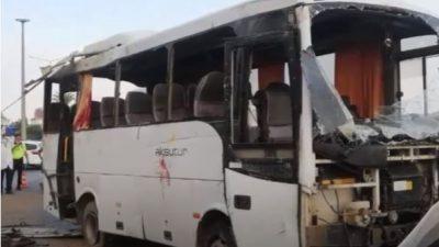 Трое российских туристов погибли в ДТП в Турции, пятеро в тяжёлом состоянии
