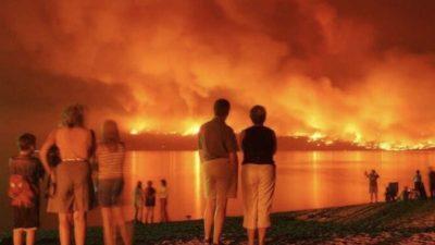 Жители Канады бегут от лесных пожаров:  У нас никогда не было такого