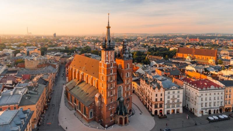 Рыночная площадь Кракова. (den_didenko / Shutterstock)    Epoch Times Россия
