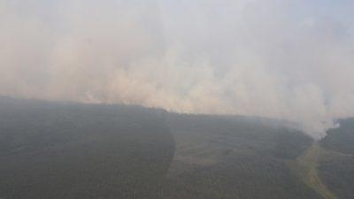 Хакасию окутал дым от лесных пожаров Якутии