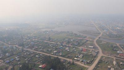 Из двух сёл Якутии эвакуировали женщин и детей
