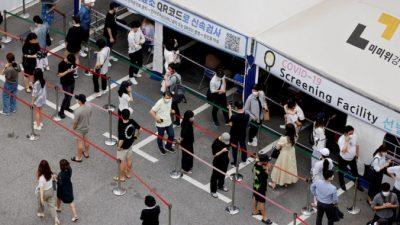 Южная Корея обнаружила 2 случая нового штамма «дельта плюс»