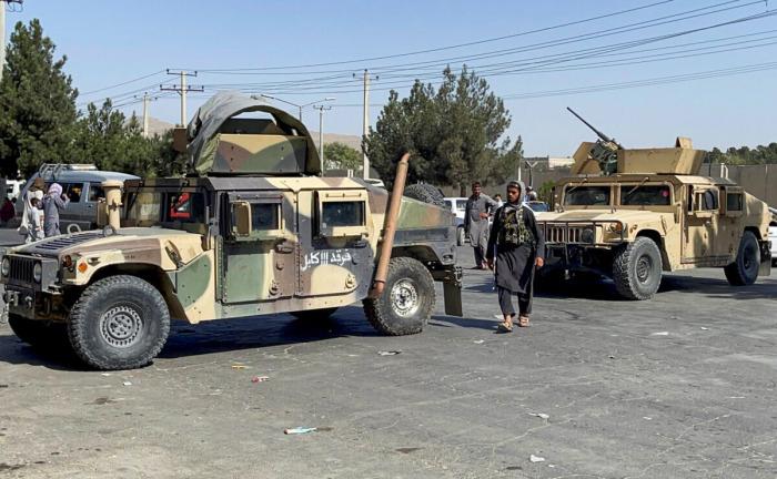 Последний американский военный самолёт покинул Афганистан