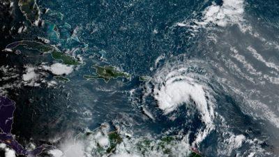 Тропический шторм «Фред» обрушился на побережье Доминиканской Республики
