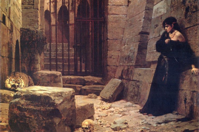 Василий Поленов «Цезарская забава», 1879 год. Общественное достояние   Epoch Times Россия