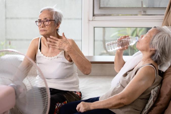 Возраст, а также многие распространенные лекарства снижают способность нашего тела к терморегуляции, подвергая многих пожилых людей риску теплового удара. (CGN089 / Shutterstock)   Epoch Times Россия
