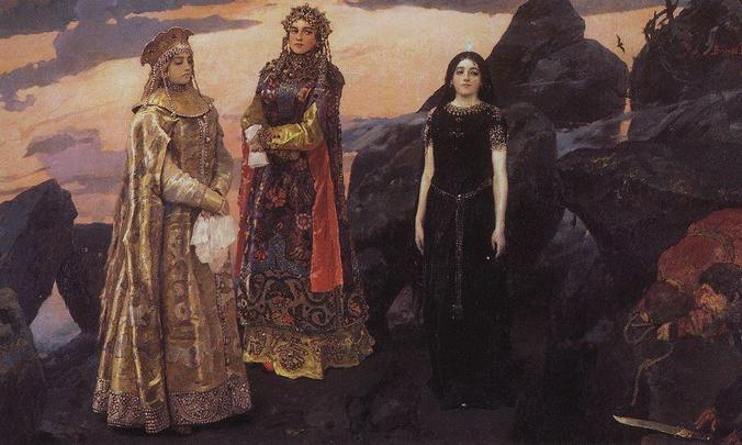 Виктор Васнецов «Три царевны подземного царства», 1884 год/общественное достояние   Epoch Times Россия