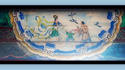 Древняя китайская легенда: Ткачиха и Пастух