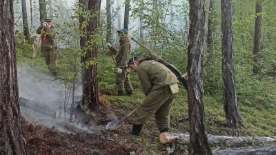 За сутки в Якутии потушили 4 пожара из 39 действующих