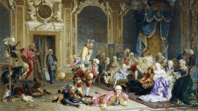 Шуты при дворе императрицы Анны Иоанновны