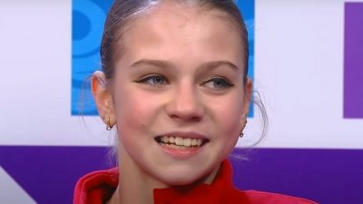 Российская фигуристка Александра Трусова выиграла турнир в США