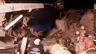 Тело ребёнка достали из-под завалов на месте взрыва газа в Ельце