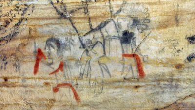 В США продали пещеру Миссури с рисунками древних индейцев