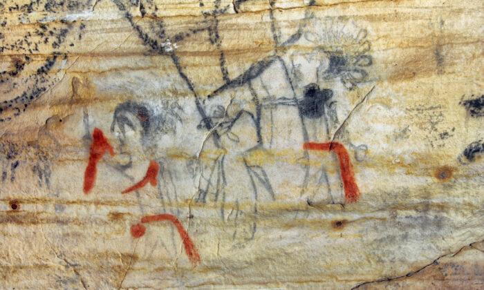 Пещера Миссури с произведениями искусства народа осейджей возрастом более 1000 лет была продана на аукционе во вторник, 14 сентября 2021 г. Alan Cressler/ via AP | Epoch Times Россия