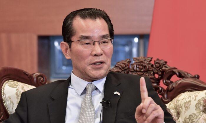 Посол Китая Гуй Конгью