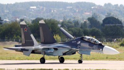 Россия направила в Беларусь истребители Су-30 для патрулирования границ
